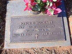 Boyce E. Huckaby