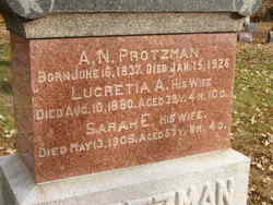 Sarah E. <I>Hagerman</I> Protzman