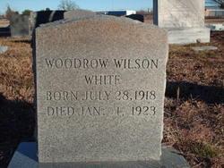 Woodrow Wilson White