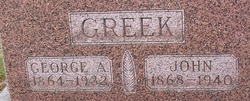 George A Greek