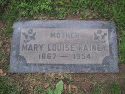 Mary Louise Rainey