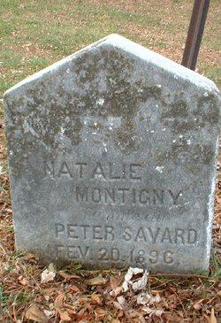 Natalie <I>Montigny</I> Savard