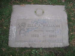 Ella A <I>Tindell</I> Williams