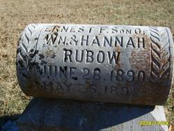 Ernest F. Rubow