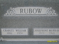 Josephine <I>Murray</I> Rubow
