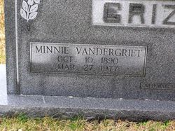 Minnie <I>Vandergrift</I> Grizzle