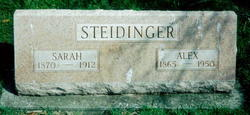 Sarah <I>Zimmerman</I> Steidinger