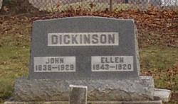 Ellen <I>Shaw</I> Dickinson