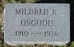 Mildred R. Osgood