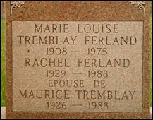 Marie Louise <I>Tremblay</I> Ferland