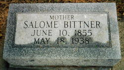 Salome <I>Steidinger</I> Bittner