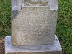 William M Stump