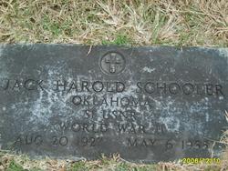 Jack Harold Schooler