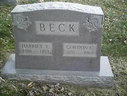 Harriet E Beck