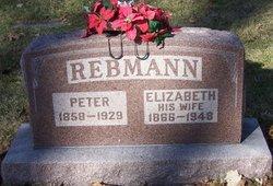 Elizabeth <I>Ehrmantraut</I> Rebmann