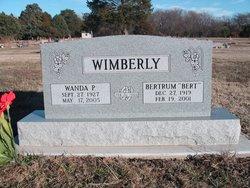 Wanda Pearl <I>Pierce</I> Wimberly