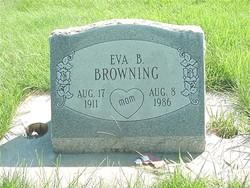 "Evelyn Burnice ""Eva"" <I>Rupp</I> Browning"