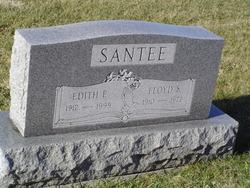 Edith E. <I>Edelman</I> Santee