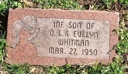 Infant Son Whitman