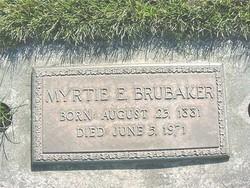 Myrtle E. <I>Fulton</I> Brubaker