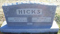 Ira Cunningham Hicks