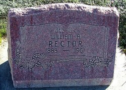 "William A. ""Buster"" Rector"