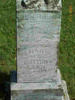 Mary <I>Kristoff</I> Steinke