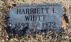 Harriett I. Whitt