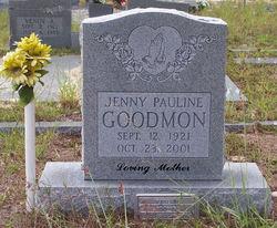 Jenny Pauline Goodmon