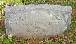Benjamin Moses Biddix
