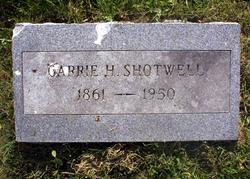 "Caroline Henrietta ""Carrie"" Shotwell"
