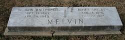 Mamie <I>Shelby</I> Melvin