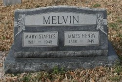 Mary <I>Staples</I> Melvin