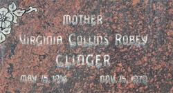 Virginia <I>Collins</I> Clinger