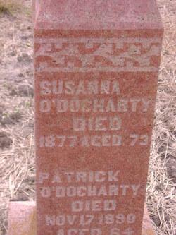 Susanna <I>Dougharty</I> O'Docharty
