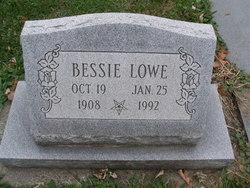 Bessie Leona <I>Dillion</I> Lowe