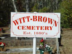 Witt Brown Cemetery