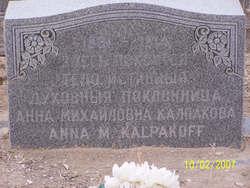 Anna M. Kalpakoff