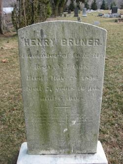 Pvt Henry Bruner