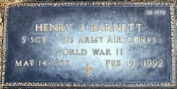 Henry J Barnett