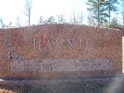 Arriller <I>Young</I> Haynie