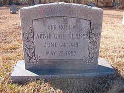 Abbie Gail Turner
