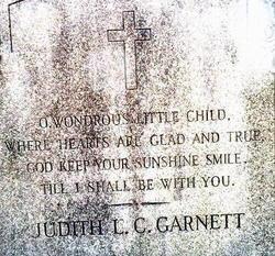 Judith L <I>C</I> Garnett