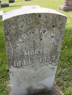 Margaret Eliza <I>Willis</I> Morse