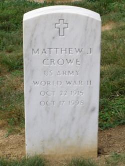 Matthew J Crowe