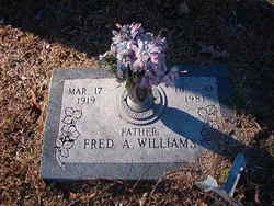 Fred A Williams
