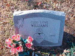 Cleo Love Williams