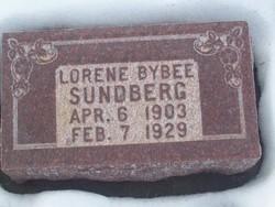 Lorene <I>Bybee</I> Sundberg