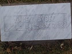 Jane Geneva <I>Robinson</I> Bybee