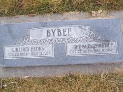 Mary Elizabeth <I>Garner</I> Bybee